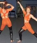 Création de Réalisation 6 costumes d'acrobates
