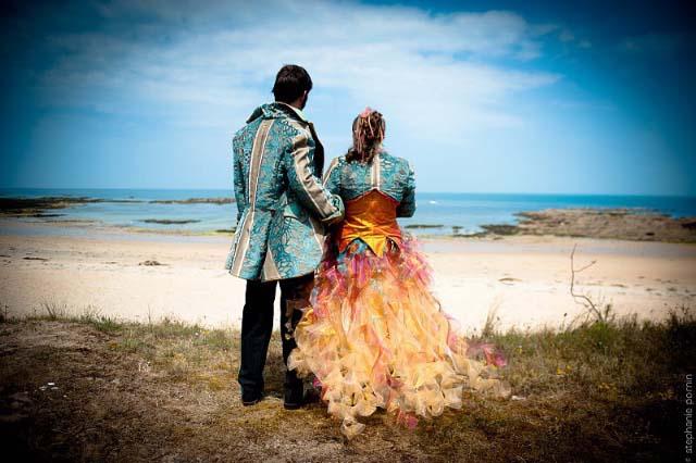 Tenues de mariage homme et femme