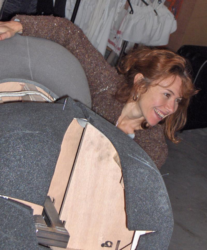 Lili en atelier
