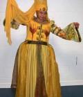 Robe moyennageuse de la soeur Tuk