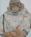 Réalisation de 3 marionnettes en mousse plissée.