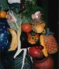 Réalisé à partir de moules en plâtre obtenus directement des vrais légumes.