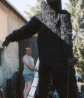 Réalisation de 3 marionnettes géantes.