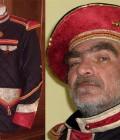 Costumes de gardes et leurs bérets